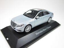 SCHUCO Mercedes Benz S Class Silver Color 1:43 Rare Euro Dealer Edition*NEW!