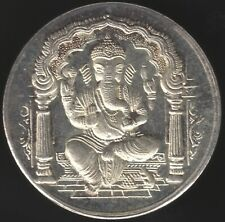 More details for india lord ganesh silver token   pennies2pounds
