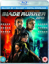 Blade Runner 2049 3d Blu-ray Harrison Ford Ryan Gosling 5051124493372
