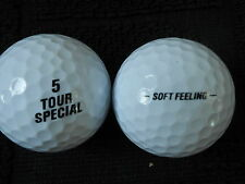 "20 TOUR SPECIAL -""SOFT FEELING""- by SRIXON -BLACK LETTERS- Golf Balls - ""PEARL""."