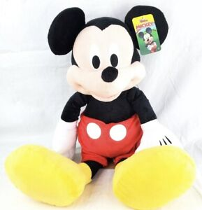 """Disney Mickey Mouse 25"""" Large Plush Doll Junior NWT party toy birthday"""
