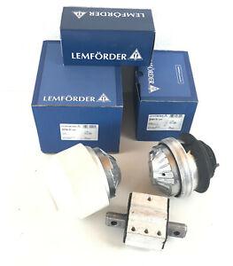 2x Engine Mount Hydro Lemförder Lemforder Left & Right + Gearbox Mounting