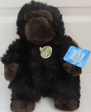 "11"" Lovable Huggable Friends Platinum Plus Plush Gorilla Ape Stuffed Animal"