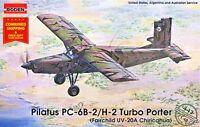 Roden 443 - 1/48 -Pilatus PC-6B-2/H-2 Turbo-Porter Military US airplane