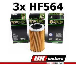 3x Hiflo Filtro Aceite HF564 Hiflo