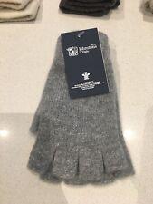 Johnstons Of Elgin Cashmere Gloves - Fingerless - RRP £39.00 - Grey