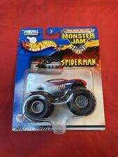 Hot Wheels Monster Jam 1:64 Spider Man Diecast 2002 Car