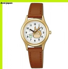 SEIKO ALBA Wrist watch ACCK403 Brown Tonarino Totoro Quartz Lady's Hardlex Japan