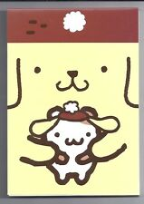 Sanrio Pom Pom Purin Notepad Friend
