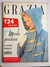 GRAZIA // rivista settimanale // 6 OTTOBRE 1957  N. 868 //