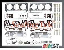 Fit 1999 GM 3400 3.4L 207 V6 VIN E Engine Cylinder Head Gasket Set w/ Bolts Kit