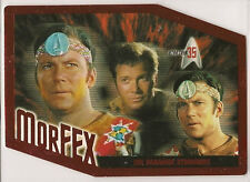 Star Trek 35th Anniversary TOS MorFEX Chase Card M2
