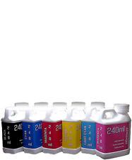 Dye Sublimation Ink 6 240ml Bottles For Epson Artisan 1430 Printer Non Oem Ink