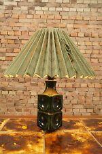 60s Tischlampe Lampe Tischleuchte Sideboard Board Lamp Danish Modern Ceramic