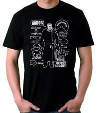 Camiseta Hombre Hodor funny t-shirt manga corta cool