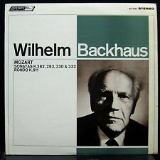WILHELM BACKHAUS mozart sonatas LP Mint- CS 6534 UK FFRR Vinyl 1967 Record