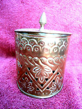 Copper Antique Asian Incense Burners