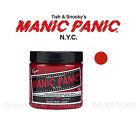 MANIC PANIC Classic Semi-Permanent VEGAN Hair Dye Color / Tintura per Capelli