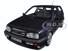1996 VOLKSWAGEN GOLF VR6 PURPLE METALLIC 1/18 DIECAST CAR MODEL BY NOREV 188417