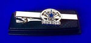 Dallas Cowboys Tie Bar Football Logo Tie Clip Team Sport Tie US Seller