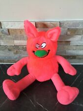 """Hamleys Bright Pink Ziggles Movers & Shakers Vibrates Giggles Plush Soft Toy 13"""""""
