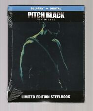 New! Pitch Black Limited Edition Steelbook Blu-Ray + Digital Unrated &Theatrical