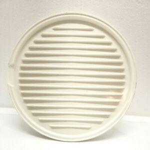 Nordic Ware Bacon Rack Tray Microwave Grill Bake N Bacon Oven Melamine Off-white
