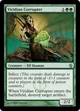 Viridian Corrupter  MP x4 Mirrodin Besieged  MTG Magic Cards Green Uncommon
