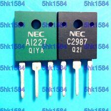 1pairs OR 2PCS  Transistor NEC TO-3PF 2SA1227/2SC2987 A1227/C2987