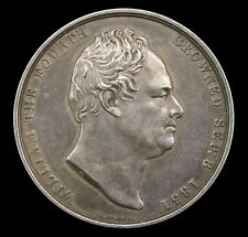 1831 CORONATION OF WILLIAM IV OFFICIAL SILVER MEDAL - BY WYON