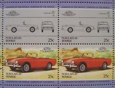 1965 Rootes SUNBEAM TIGER Car 50-Stamp Sheet / Auto 100 Leaders of the World