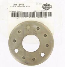 Genuine HARLEY DAVIDSON CLUTCH PRESSURE PLATE DISC OEM 37816-41 SHOVEL IRON HEAD