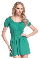 Glamour Empire. Women's Jersey Top T-Shirt Empire Waist Short Sleeves. 408