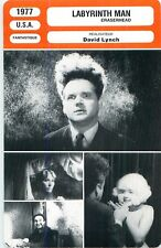 FICHE CINEMA FILM USA LABYRINTH MAN / ERASERHEAD Réalisateur David Lynch