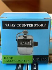 NEW Hand Tally Counter Store Box of 10 counters Hand Clickers Retail $60