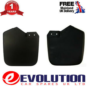 A PAIR OF FRONT MUDFLAPS GUARDS FITS FORD TRANSIT CUSTOM 2012 ON, 1915641