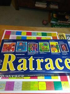 Vintage Waddingtons Ratrace Board Game 1973 Complete Rare