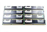 32GB (8x4GB) HP Micron PC3-10600R Server Memory RAM MT36JSZF51272PZ 500203-061