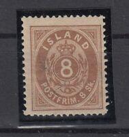 BB5606/ ICELAND – MI # 4A MINT MH - CV 355 $