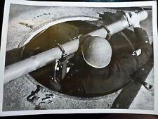 Photo PRESSE WW2 WWII 18x13.1 : TELEMETRE Train Blindé ITALIEN _Photo HOFFMANN