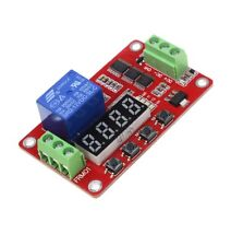 PLC Home 12V Automation Delay Multifunction Self-lock Relay Cycle Timer Module