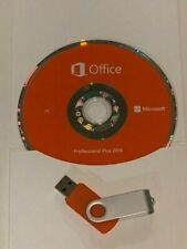 Microsoft Office Pro 2016 MS DVD USB Brand New Product Key Professional CD