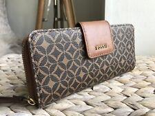Fossil purse wallet wristlet