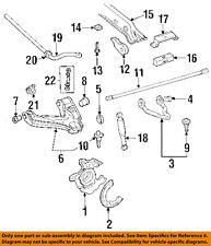 GM OEM Stabilizer Sway Bar-Front-Link 12546193