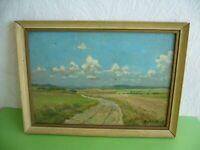 Altes Bild Gemälde von 1947, signiert G. Wendt, Landschaft