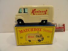 MATCHBOX LESNEY REGULAR WHEELS #62b TV SERVICE VAN BPW Mint in Box