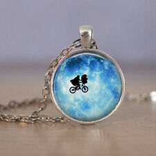 Vintage Cycling in the Cabochon Tibetan silver necklace for women men Jewelry