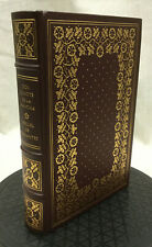 Don Quixote de la Mancha Miguel de Cervantes Franklin Library Leather Limited