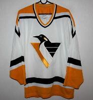 Vintage Pittsburgh Penguins NHL ice hockey shirt jersey CCM Size M