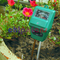 3 in 1 Plant Flowers Soil PH Tester Moisture Light Meter hydroponics Analyzer